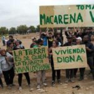 Chile. Breve documental de la reciente toma de terreno Macarena Valdés en comuna de Cerro Navia