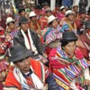 Bolivia. Zonas rojas de ayer y de hoy