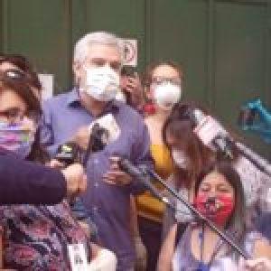 Chile. Fueron liberados los dirigentes nacionales de la ANEF