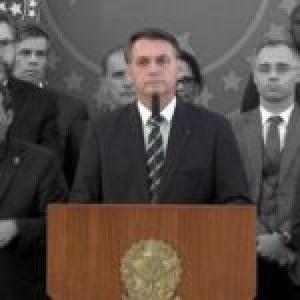 Brasil. Moro expone nuevos delitos de Bolsonaro