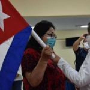 Cuba. Por primera vez, toda una brigada Henry Reeve integrada por mujeres