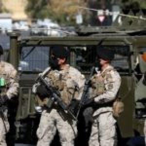 Chile. Cuarentena Militarizada   14.500 nuevos efectivos de los «Boinas negras» del ejército se unen a labores de patrullaje