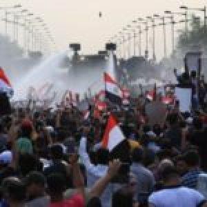 Irak. Nuevos choques entre fuerzas de seguridad y manifestantes en centro de Bagdad
