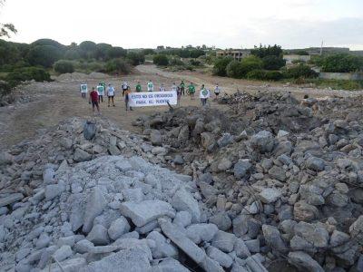 Los escombros vertidos ilegalmente en Rancho Linares proceden de la Residencia de Tiempo Libre – La otra Andalucía