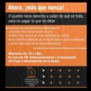 Argentina. Suspender el pago e investigar la deuda: El pueblo tiene derecho a saber de qué se trata, para no pagar lo que no debe