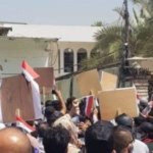 Irak. Manifestantes asaltan oficina de canal saudita MBC