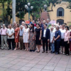 Vietnam. Cubanos y vietnamitas unidos por Ho Chi Minh y José Martí (+Fotos)