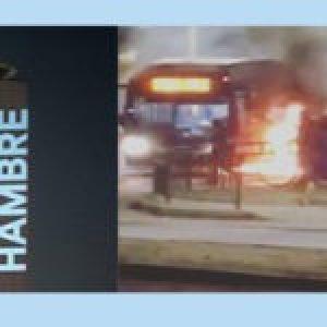 Chile. Hambre: Cacerolazos y protesta en diferentes comunas de Santiago, también en Valparaíso (vídeos)