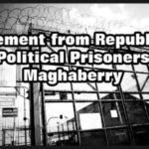 Euskal Herria. Presos políticos irlandeses dan su apoyo al preso vasco Patxi Ruiz