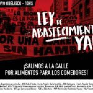Argentina. Convocan movilización al Obelisco para este jueves: «¡Basta de extorsión empresarial y basta de Hambre!»