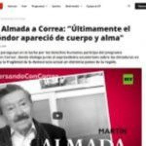 Paraguay. Martín Almada explica el Plan Cóndor en «Conversando con Correa»
