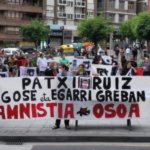 Euskal Herria. Día 13 de huelga de hambre del preso vasco Patxi Ruiz / Se multiplican las protestas y actos de apoyo en los pueblos y en el mundo