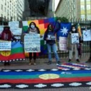 Nación Mapuche. En Buenos Aires recuerdan a Rafael Nahuel, asesinado por la prefectura