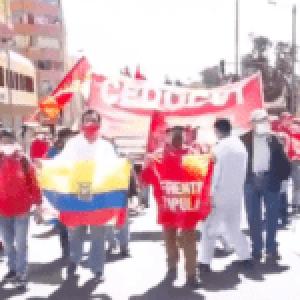 Ecuador. Marchas contra las medidas del gobierno en varias ciudades.