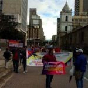 Colombia. Plantándole cara al sistema capitalista, un 28 de mayo.
