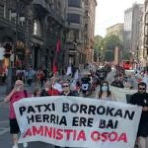 Euskal Herria. 20º día de huelga de hambre del preso vasco Patxi Ruiz /Numerosas muestras de apoyo y movilizaciones en varias ciudades