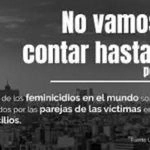 """México. La UNAM lanza campaña """"No vamos a contar hasta 10"""""""