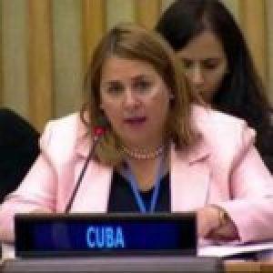 Cuba. Denuncia en la ONU los actos terroristas contra su embajada en EE.UU.