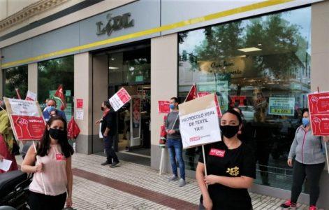 Alto seguimiento de la convocatoria de huelga de Lidl en Andalucía – La otra Andalucía