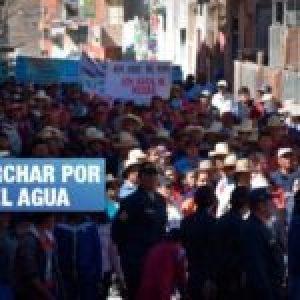 Perú. Otuzco, el pueblo que expulsó a una minera en defensa de su cuenca