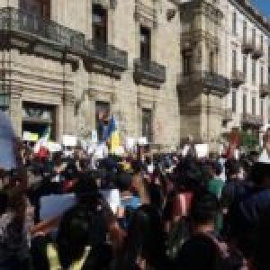 México: masiva movilización a un mes del asesinato de Giovanni López
