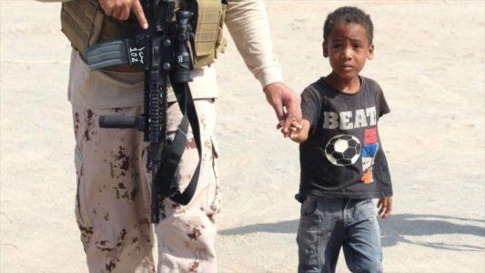 Arabia Saudí secuestra y viola a niños yemeníes en el campo de batalla – La otra Andalucía