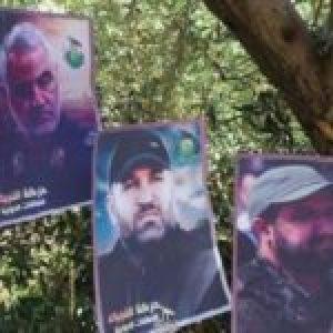 Palestina.  Globos de advertencia: Hezbolá alerta a Israel sobre Cisjordania