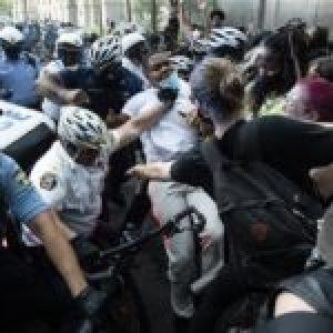 Estados Unidos. La policía estadounidense arrestó a más de 10,000 manifestantes.