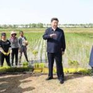 China. Xi enfatiza la unidad étnica, alivio de la pobreza