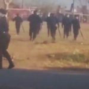 Argentina. Rosario: decenas de heridos y dos detenidos durante desalojo en barrio Toba