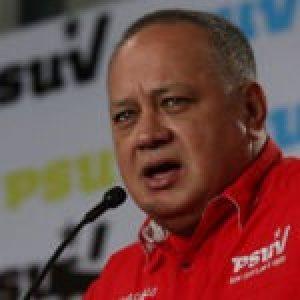 Venezuela. Cabello insta a que no se permita a EE.UU. la utilización de Colombia para agredir a la patria de Bolívar