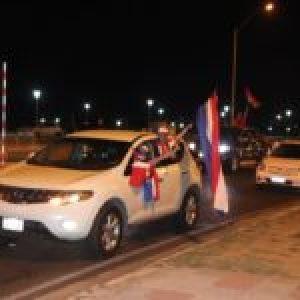 Paraguay. Miles de manifestantes  realizan nueva caravana contra el mal gobierno neoliberal
