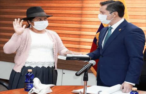 Ecuador. Chimborazo tiene a una mujer quichua como nueva viceprefecta
