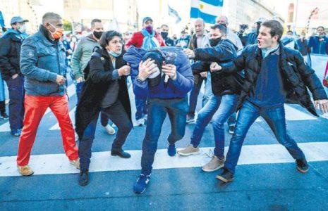 Argentina. Los actos anticuarentena: Odiadores seriales