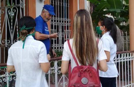 Cuba. Oficina de Población de Naciones Unidas elogia labor de jóvenes cubanos en el combate a la pandemia