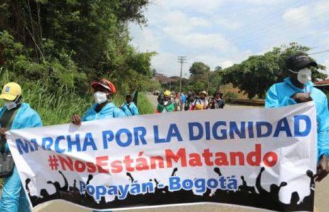 Colombia. ¿Por qué se realiza la Marcha por la Dignidad?