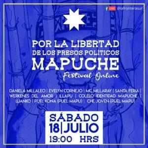 Nación Mapuche. Festival Online Por la Libertad de los Presos Políticos Mapuche