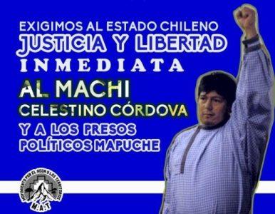 Nación Mapuche.  Presos Mapuche en riesgo de muerte y el estado ausente