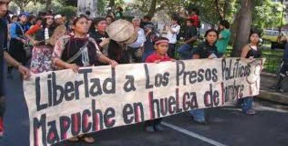 Nación Mapuche. Fotos y videos de movilizaciones por los PPM en huelga de hambre