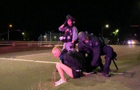 Estados Unidos.  Extorsionan manifestantes en Portland y detenciones ilegales en Nueva York