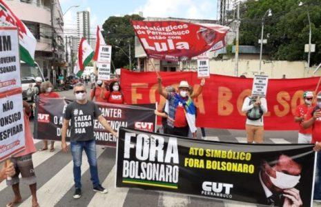 Brasil. La CUT, junto a organizaciones sociales exigen la salida de Bolsonaro