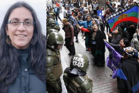 Nación Mapuche. Daniela Sierra, abogada de la causa mapuche: «La justicia tiene dos caras»