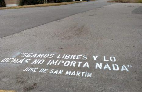 Argentina. San Martin y la historia en disputa
