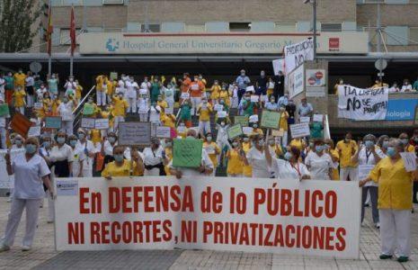 """Feminismos. En Madrid las limpiadoras dicen """"Para ellos somos como las jeringas, descartables"""""""