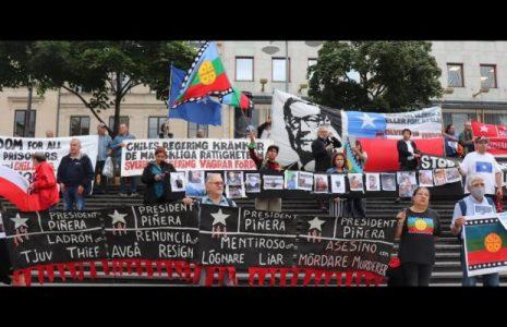 Chile. Estocolmo se suma al clamor por la libertad de los presos políticos