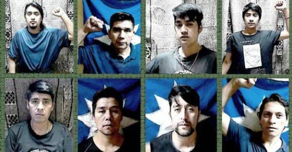 Nación Mapuche. Huelga de hambre de presos mapuche: ¿Quiénes son los ocho de la cárcel de Angol? Más allá de Celestino Córdova