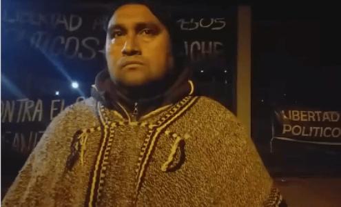 Nación Mapuche. Angol: Reunión con el ministro de justicia Hernán Larraín