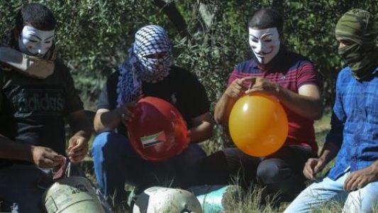 Palestina. Globos Incendiarios: mensajes de socorro desde Gaza