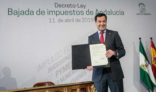 Andalucía: rebaja fiscal a los ricos y recortes a los pobres