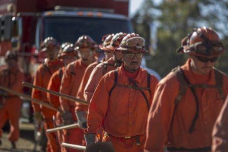 Estados Unidos. Los incendios de California, el cambio climático y los presos bomberos
